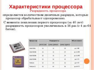 Определяем разрядность процессора