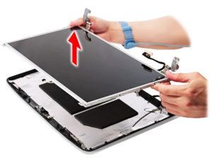 Правильная замена матрицы на ноутбуке