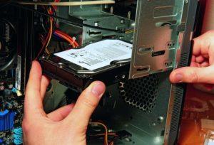 Замена жесткого диска на ПК и на ноутбуке