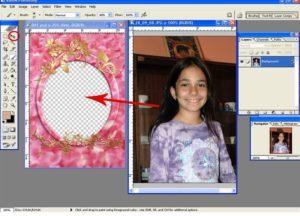 Как вставить изображение в Фотошопе