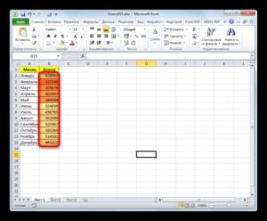 Заливка ячеек в зависимости от значения в Microsoft Excel