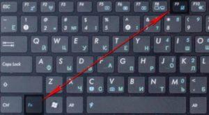 Отключение тачпада на ноутбуке