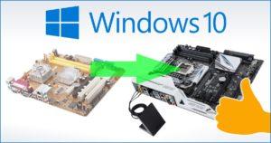 Как заменить материнскую плату без переустановки Windows 7
