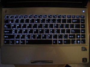 Включение подсветки клавиатуры на ноутбуке ASUS