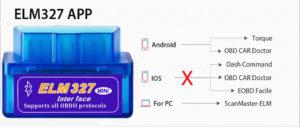 Программы для работы с ODB2-адаптером ELM327 для Android