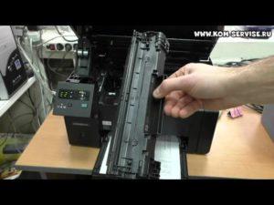 Как вставить картридж в принтер HP
