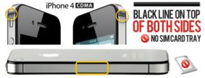 Как узнать модель iPhone 5S (GSM и CDMA)