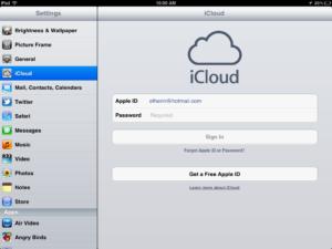 Как войти в iCloud через ПК
