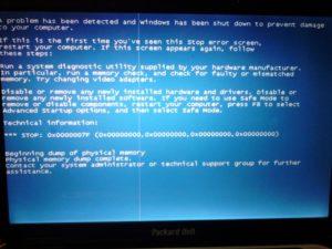 Решение проблемы с белым экраном при включении ноутбука