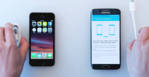 Перенос фото с iPhone на Android