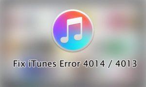Способы решения ошибки 4014 в iTunes