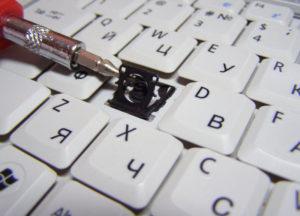 Замена клавиш на клавиатуре ноутбука