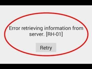 Устраняем ошибку RH-01 в Play Маркете