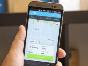 Приложения для бега на Андроид