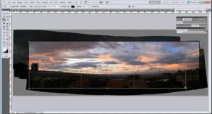 Склейка панорамы в Фотошопе
