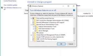 Установка RSAT в Windows 10