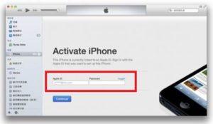 Как активировать iPhone с помощью iTunes