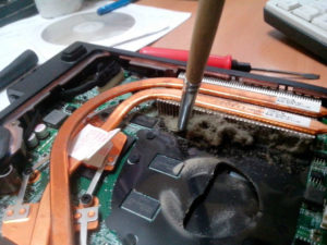 Правильная очистка компьютера или ноутбука от пыли