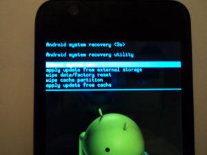 Сбрасываем настройки на Android