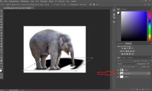 Как сделать тень от предмета в Фотошопе