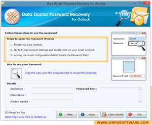 Восстанавливаем пароли Outlook