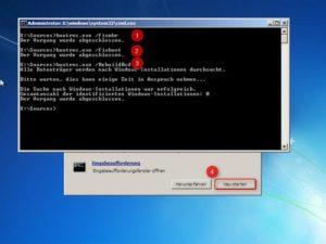 Исправление ошибки «Missing operating system» в Windows 7