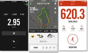 Приложения для бега на iPhone