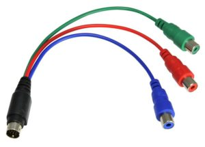 Подключение компьютера к телевизору через RCA-кабель