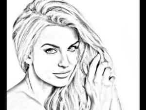 Делаем карандашный рисунок из фото онлайн