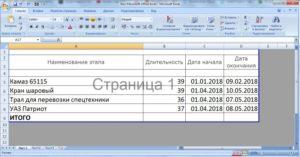 Отключение надписи «Страница 1» в Microsoft Excel