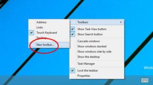 Активация «Панели быстрого запуска» в Windows 7