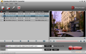 Открываем видео в формате M2TS