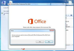 Удаляем пакет MS Office 2010 с компьютера