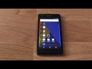 Прошивка смартфона Sony Xperia Z