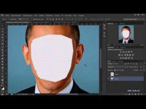 Как поменять лицо в Фотошопе