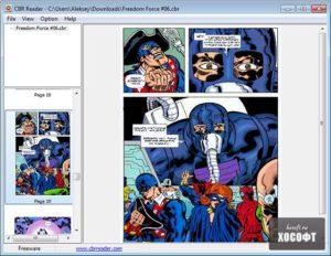 Открываем комиксы в формате CBR