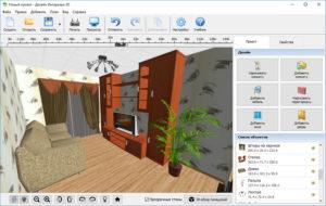 Программы для дизайна интерьера