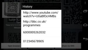 Сканеры графических кодов для Android