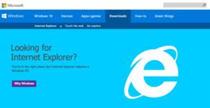 Долой Internet Explorer на Windows 10