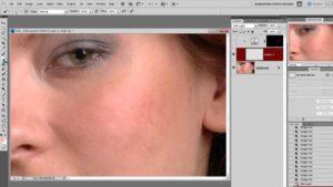 Выравниваем цвет лица в Фотошопе