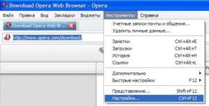 Браузер Opera: настройка веб-обозревателя