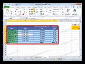 Удаление лишних пробелов в Microsoft Excel