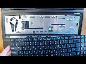 Снимаем клавиатуру с ноутбука ASUS