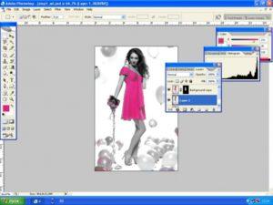 Как выделить один цвет в Фотошопе