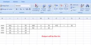 Перемещение строк в Microsoft Excel