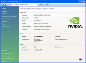 Обновление OpenGL в Windows 7