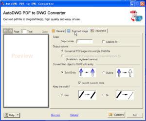 Конвертируем файл PDF в DWG