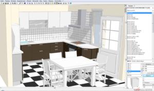 Проектирование кухни на компьютере