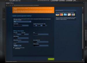 Расчетный адрес в Steam. Что это