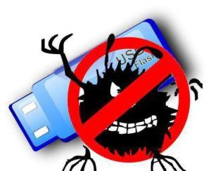 Проверяем и полностью очищаем флешку от вирусов
